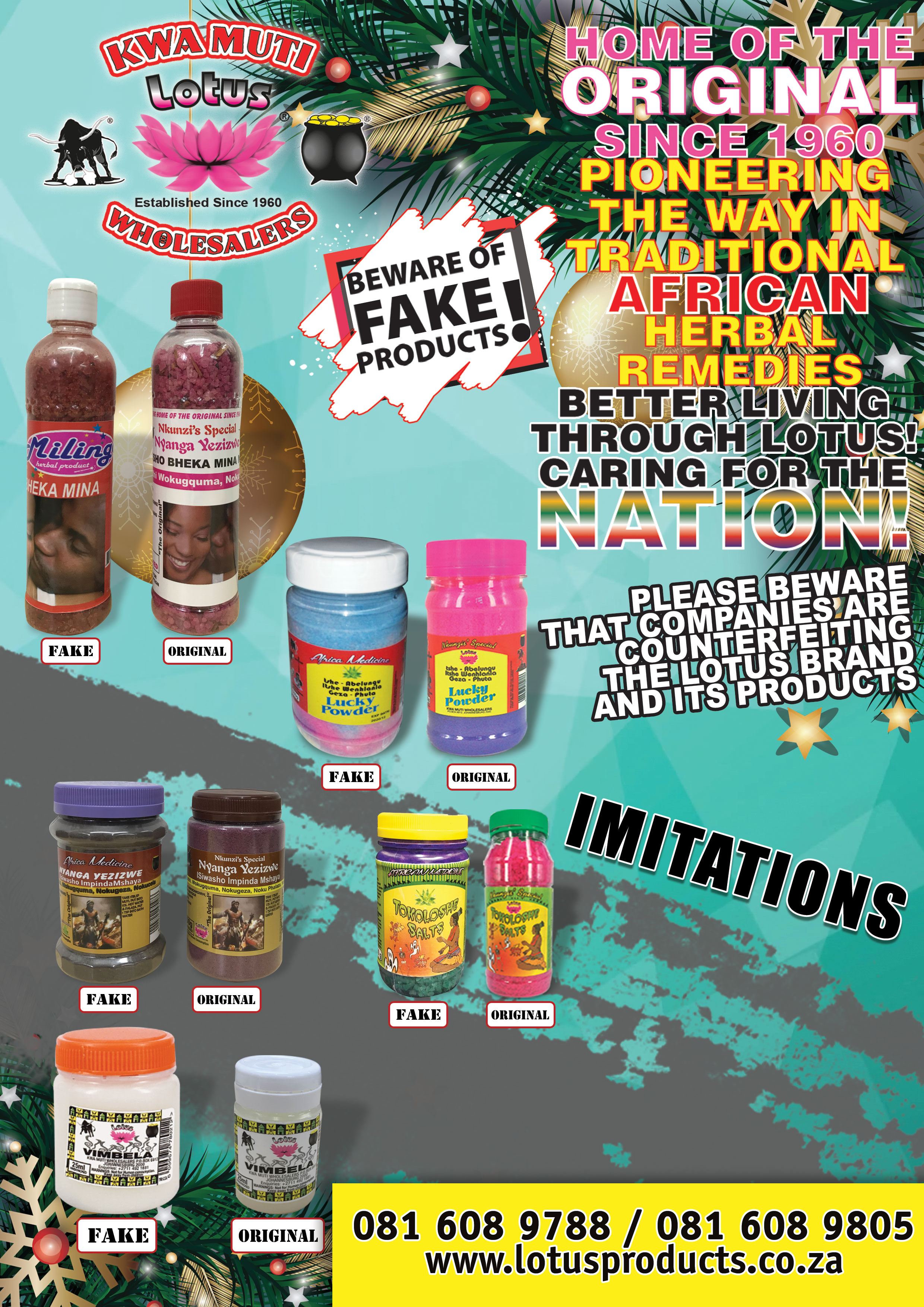 Kwa Muti Wholesalers in South Africa, Kwa Muti Manufactures