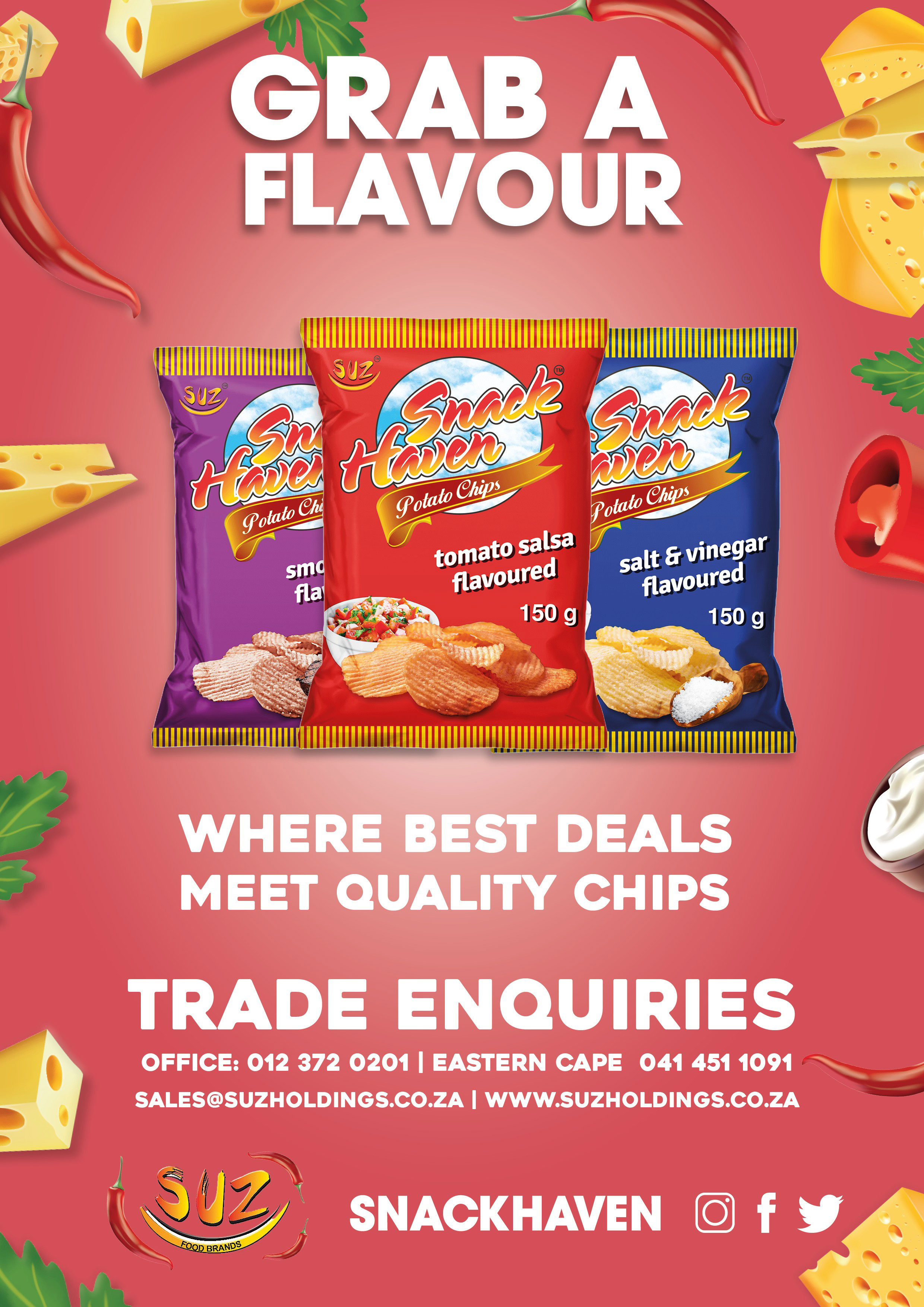 Sweets / Biscuits / Snacks Wholesalers in South Africa
